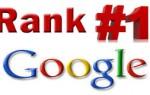 Google Rank #1