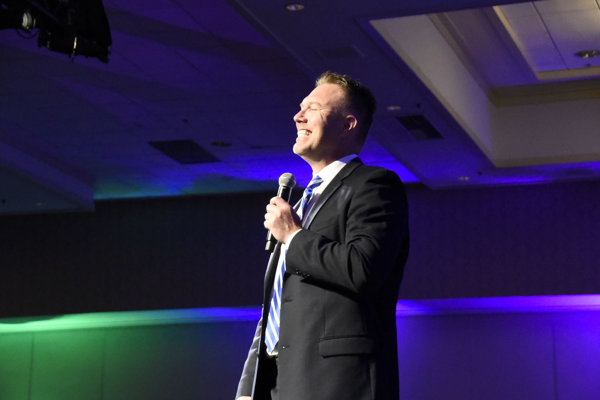 Childhood Trauma and Mental Health Keynote Speaker Derek Clark